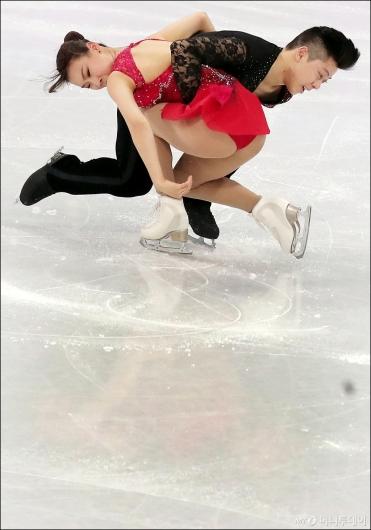 [사진]감강찬-김규은, '서로 의지하며'