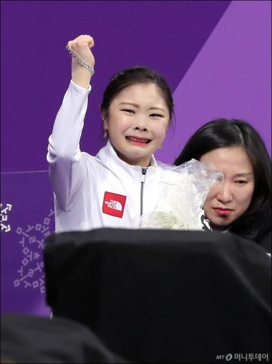[사진]김하늘, '올림픽 첫 무대서 개인 최고점'