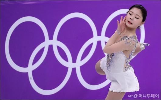 [사진]올림픽에서 최선을 다하는 김하늘