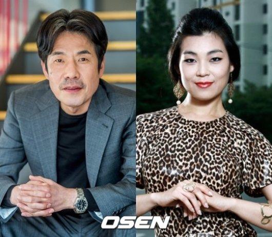 '성추행 의혹' 오달수, 채국희와 결별