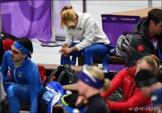 [사진]생각에 잠긴 김보름