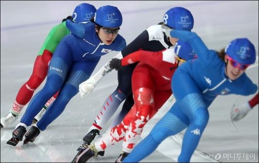 [사진]매스스타트 결승 진출 실패한 박지우
