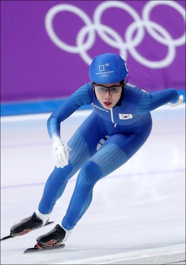[사진]박지우, '평창동계올림픽 마감'