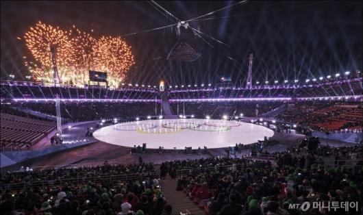 [사진]평창동계올림픽 폐막...내일을 달리는 꿈