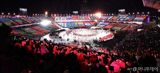 [사진]세계가 하나된 평창동계올림픽