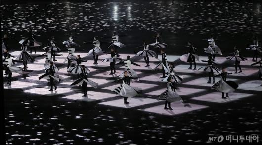 [사진]평창동계올림픽 '새로운 시간의 축'