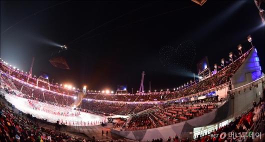 [사진]화려한 평창동계올림픽 폐막식