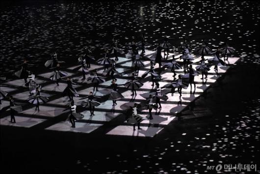 [사진]빛으로 물든 평창올림픽