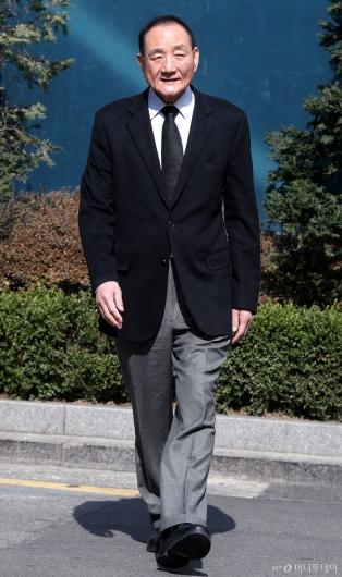 [사진]MB 소환 D-1, 입장 말하는 김효재 전 정무수석