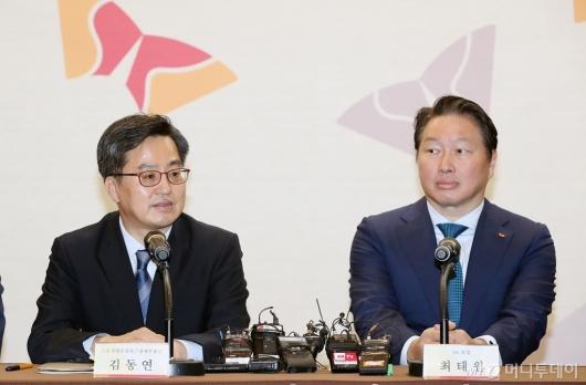 [사진]모두발언하는 김동연 부총리