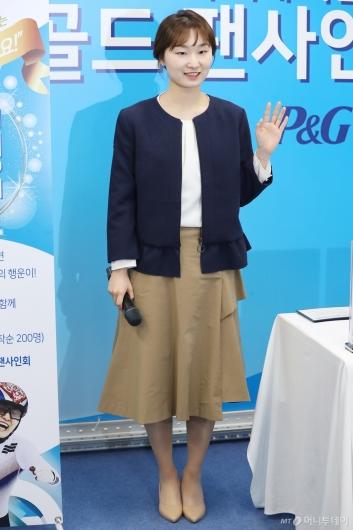 [사진]팬 사인회 참석한 최민정