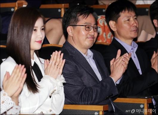 [사진]미소짓는 김동연 부총리