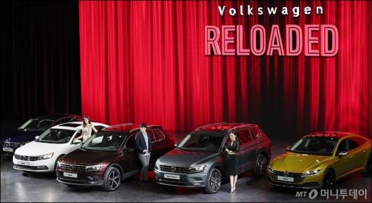 [사진]폭스바겐, '신차 5종 판매 시작'