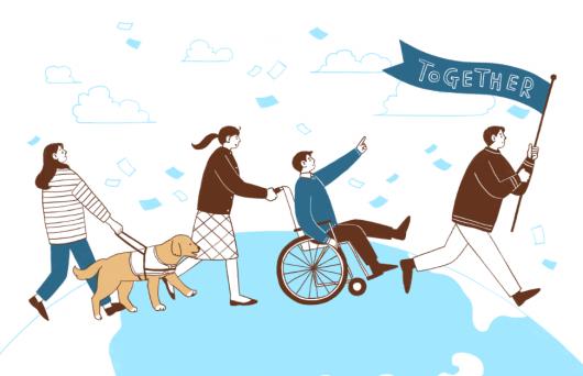 '동행으로 행복한 삶'…장애인의 날 언제부터?