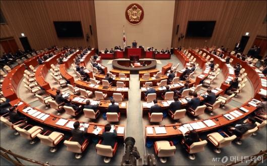 [사진]국회 예산결산특별위원회 전체회의 개회