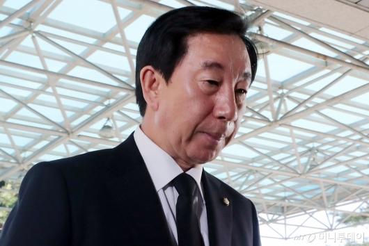 [사진]故 구본무 회장 빈소 찾은 김성태 원내대표