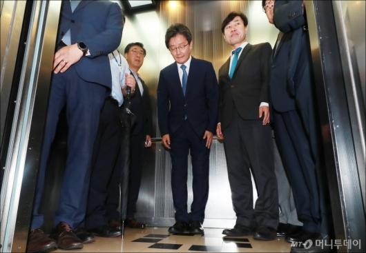[사진]유승민, 바른미래당 공동대표직 사퇴