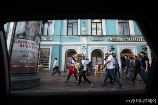 [사진]축제 분위기의 거리