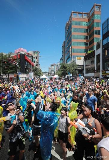 [사진]'한여름 물총축제'