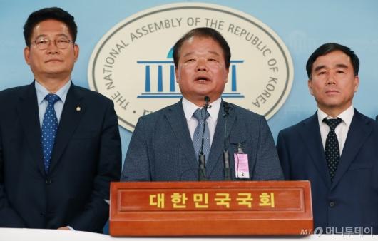 [사진]개성공단기업 비대위, 방북 승인 촉구 기자회견