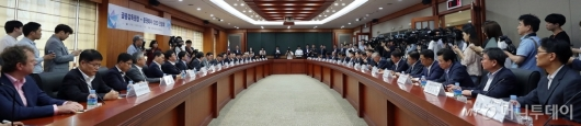 [사진]금융감독원-증권사 CEO 간담회