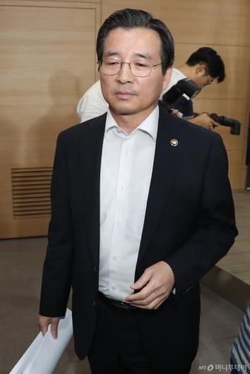 [사진]증선위 브리핑 마친 김용범 위원장