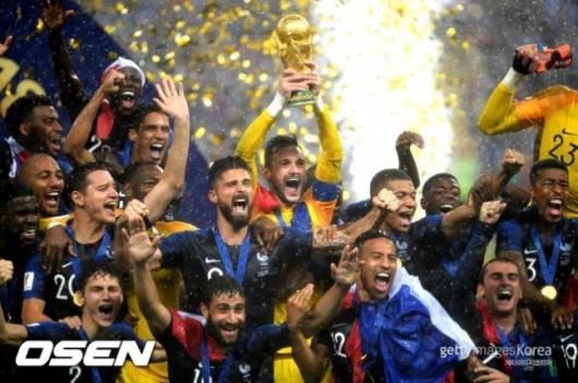 프랑스 '431억' 우승 돈방석…한국은 91억