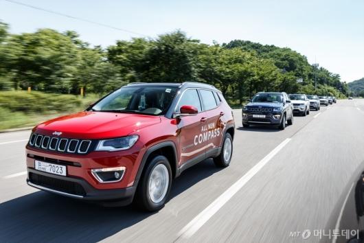 [시승기]힘이 꽉찬 컴팩트 SUV, 지프 '올 뉴 컴패스'