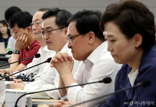 [사진]김동연 부총리, 정부부처-기업-전문가 만남