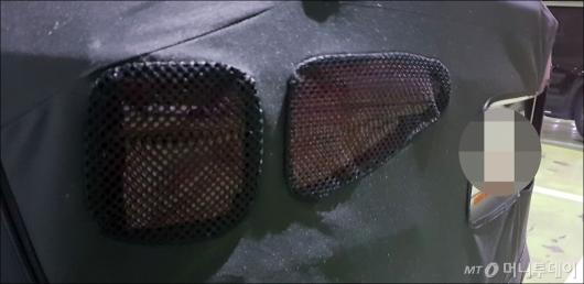 [사진]기아차 SP컨셉 양산형 뒷모습