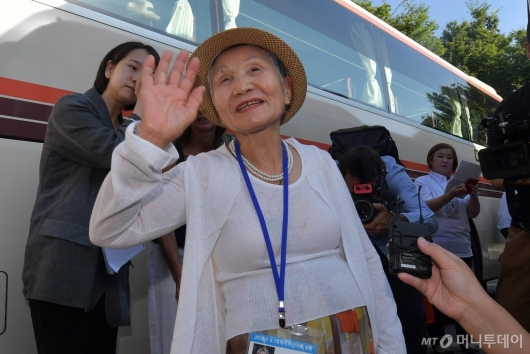 [사진]이산가족 만나러 가는 길