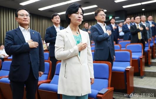 [사진]'규제혁신법 논의' 민주당 정책의총 개최