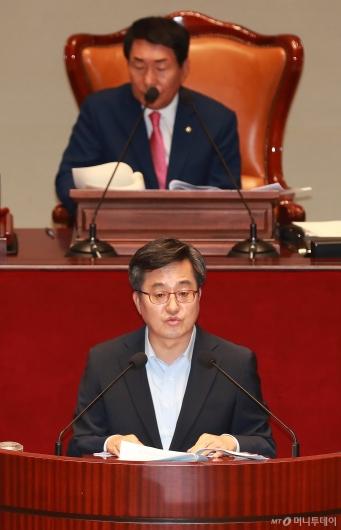 [사진]예결위 출석한 김동연 경제부총리