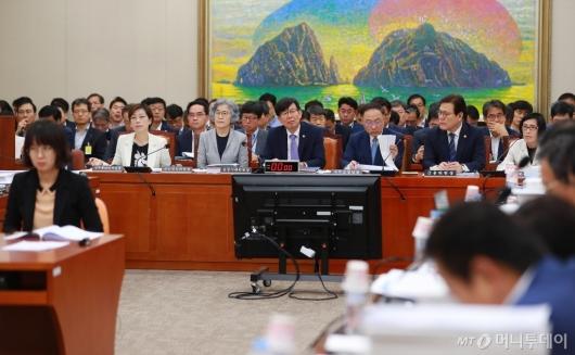 [사진]국회 정무위원회 전체회의