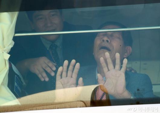 [사진]'오열하는 이산가족'