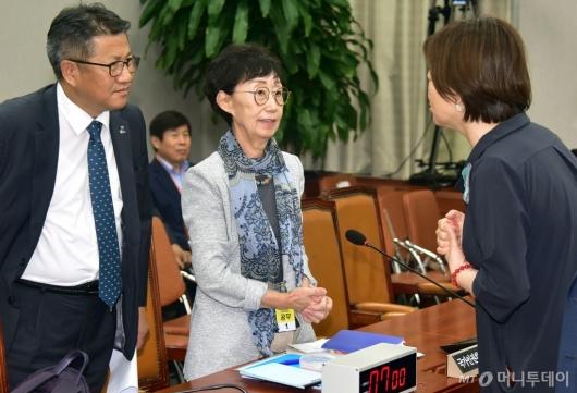 [사진]'솔릭 여파' 최영애 인권위원장 후보자 인사청문회 연기