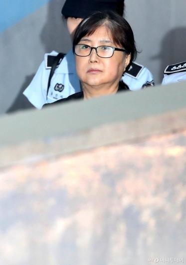 [사진]항소심 공판 앞둔 최순실