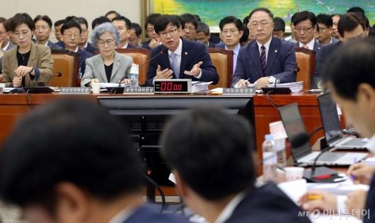 [사진]정무위원회 전체회의