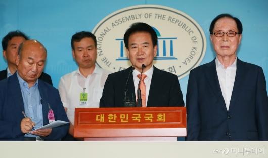 [사진]정동영 대표, 남북철도 연결 위한 대북제재 해제 촉구