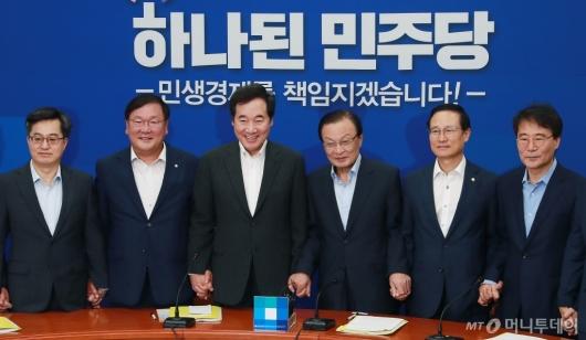 [사진]민주당 이해찬 호 첫 고위당정 개최