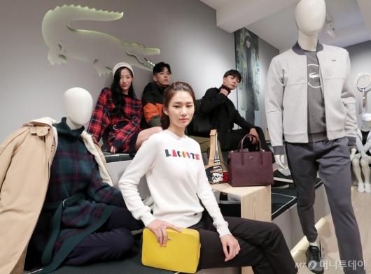 [사진]2018 가을-겨울 신상품 선보이는 라코스테