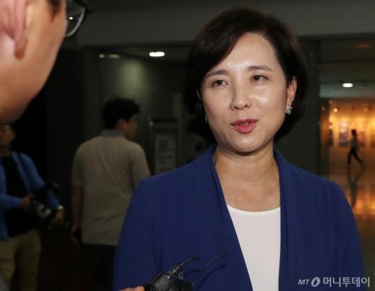 [사진]유은혜, 사회부총리 겸 교육부 장관 지명