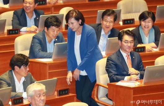 [사진]교육부장관 지명된 유은혜