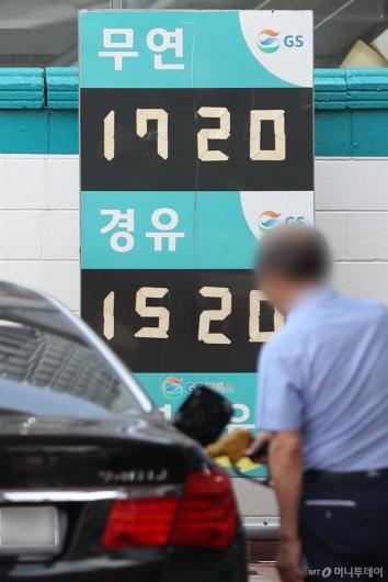 [사진]전국 휘발유 가격 9주 연속 상승