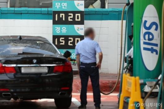 [사진]휘발유 가격 9주 연속 상승…서울 리터당 평균 1,707원