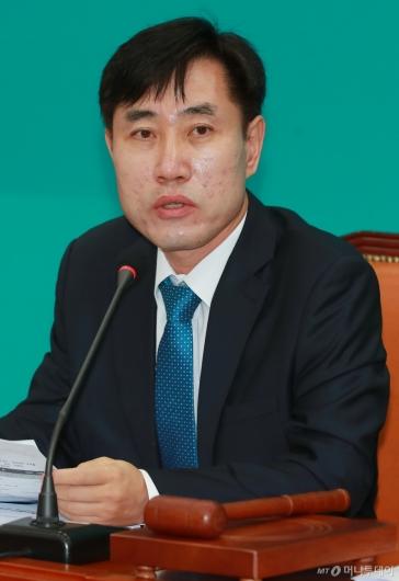 [사진]모두발언하는 하태경 바른미래당 최고위원