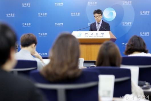 [사진]한국은행, 2018년 2분기 국민소득(잠정) 발표