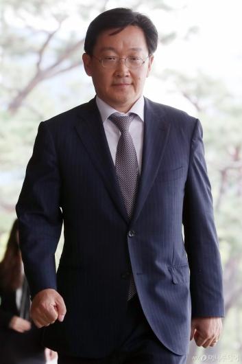 [사진]검찰 출석한 곽병훈 전 청와대 법무비서관