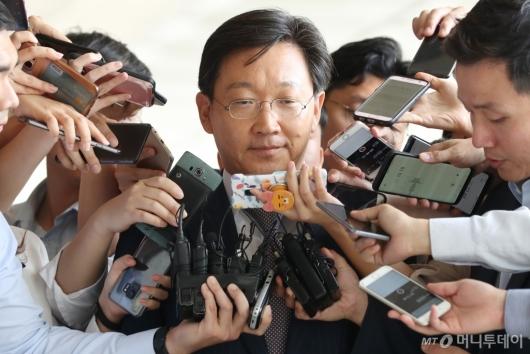 [사진]곽병훈, '조사에 성실히 임하겠다'