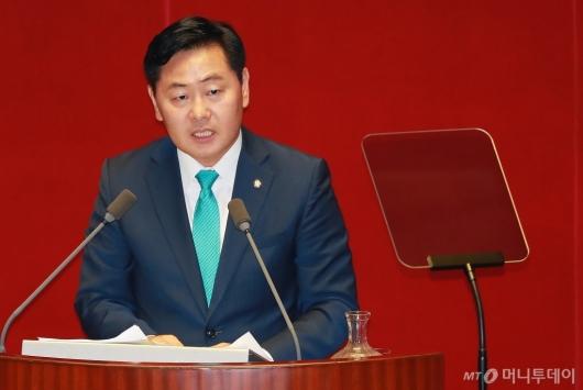 [사진]김관영 원내대표, 교섭단체 대표연설